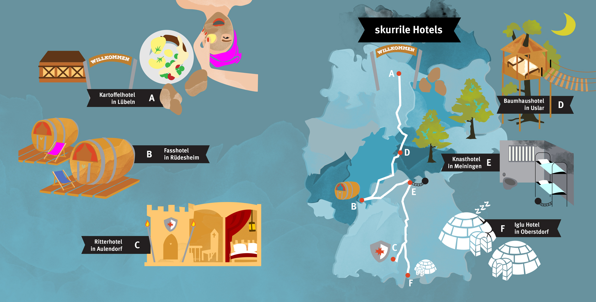Hotels-Duitsland
